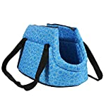 Pet Travel Carrier Tote Bag - SODIAL(R) Foldable and washable Small Dog Cat Pet Travel Carrier Tote Bag Purse Bag Soft… 6
