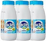 Lactel Bouteille de Lait demi Écrémé avec Vitamine D 50 cl - Pack de 6 bouteilles