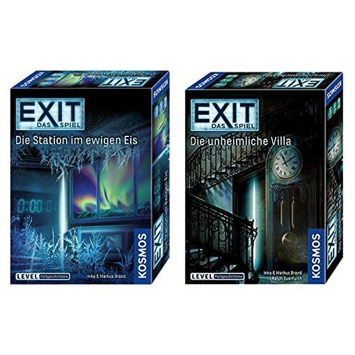 KOSMOS-EXIT-2er-Set-694036-692865-Die-unheimliche-Villa-Die-Station-im-ewigen-Eis