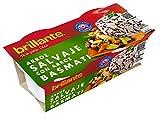 Brillante Arroz Salvaje con Arroz Basmati Plato Preparado - Paquete de 2 x 125 gr - Total: 250 gr