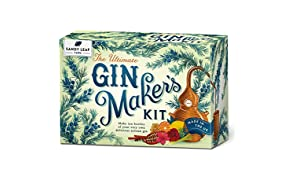 Sandy Leaf Farm Ultimate Gin Maker's Kit - Make eight big bottles of your own gin - Flavours including classic citrus, chocolate orange, pink, Christmas and more
