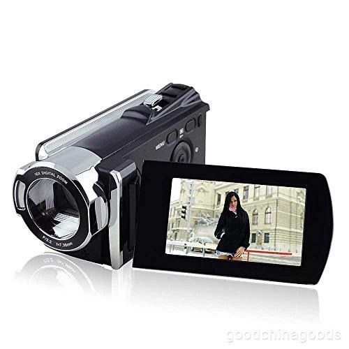 PowerLead HD1080P 16MP Cámara de Vídeo Digital DV Cámara de 3,0inch Alta Definición de Vídeo Digital Videocámara TFT LCD 16x Zoom Cámara de Vídeo