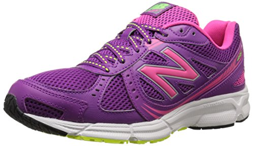 New Balance Women's WE495 Running Shoe, Plum, 10 B US Plum