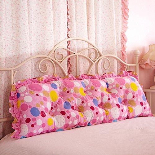 uus Big Bedhead Kissen Soft & Bequeme Rückenlehne Schöne Home Decoration Square Pattern Wasit Care Muti-nützliche Kissen 180 * 53cm ( Farbe : N )