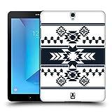 Head Case Designs Weiss Neo Navajo Ruckseite Hülle für Samsung Galaxy Tab S3 9.7
