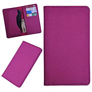 DCR Pu Leather case cover for HTC One (pink)