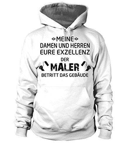 TEEZILY Männer Frauen Kapuzenpullover - Exzellenz Maler Majestät