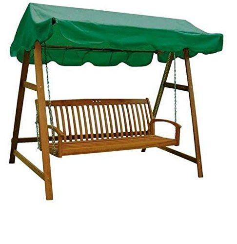 Hollywoodschaukel Holz MIAMI Schaukel 3-Sitzer Gartenschaukel Gartenmöbel Holz