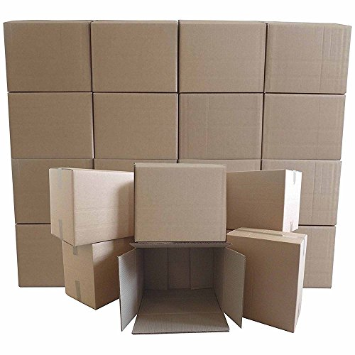 New *20 X Large Cardboard House Moving Boxes - Removal Packing Box Special Price - LTD Period ONLY