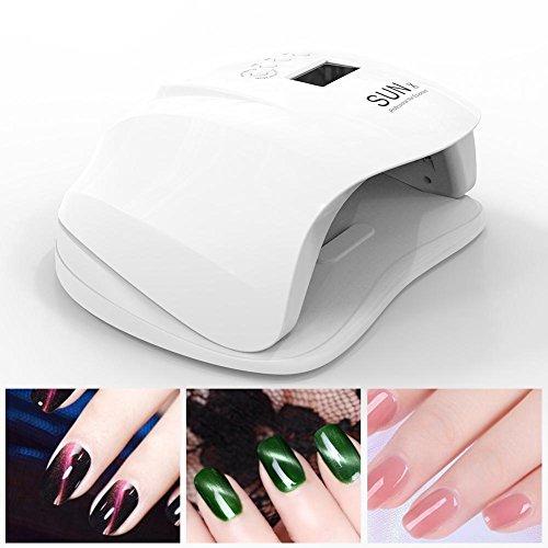 Nagel Lampe 54W UV LED Nagel Trockner Gel Sensor Automatik Lampe LCD Display Speicher und Pausen-Timerfunktion Professionelle LED Nagel Lampe für Nagel und Nägel - Gel-polish Uv-trockner