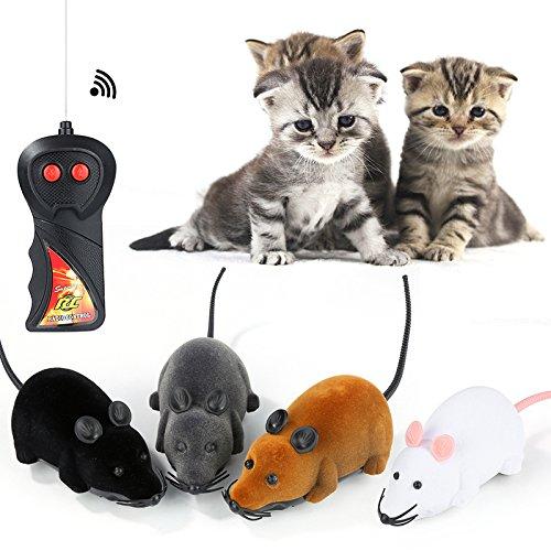 Fernbedienung Ratten Pet Spielzeug Katzenspielzeug FUNNY Wireless Kontrollierte Maus Multicolor Neuheit Geschenk Cute lebensecht
