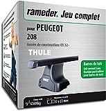 Rameder Pack Barres de Toit SquareBar pour Peugeot 208 (116396-10164-1-FR)