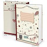 Leeres rosa pink XXL Babytagebuch EINHORN EULE Mädchen Baby Tagebuch Erstes Jahr Buch Babybuch Geschenk Eltern Geburt Kindertagebuch DIN A4 Kinderbuch Taufe Geburtstag
