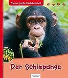 Der Schimpanse (Meine große Tierbibliothek)