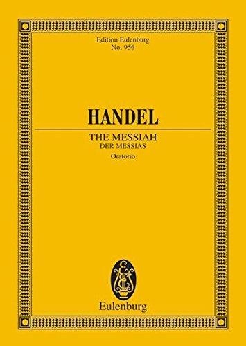 Messias HWV 956, Partitur
