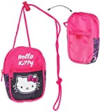 Unbekannt Handytasche / Geldbörse / Brustbeutel -  Hello Kitty / Katze  - Geldbeutel - Portemonnaie für Kinder - Geld Handy Geldtasche / Kätzchen - Mädchen