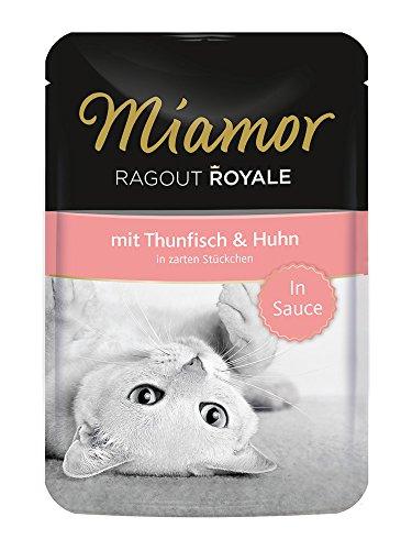 Miamor Katzenfutter Ragout Royal Thunfisch+Huhn 100 g, 22er Pack (22 x 100 g)