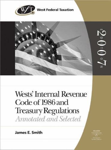 internal-revenue-service-code-of-1986-and-treasury-regulations-2007-edition-with-ria-and-turbo-tax