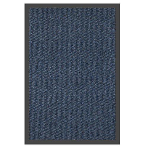 Schmutzfangmatte Blau / Schwarz 90 x 150 cm