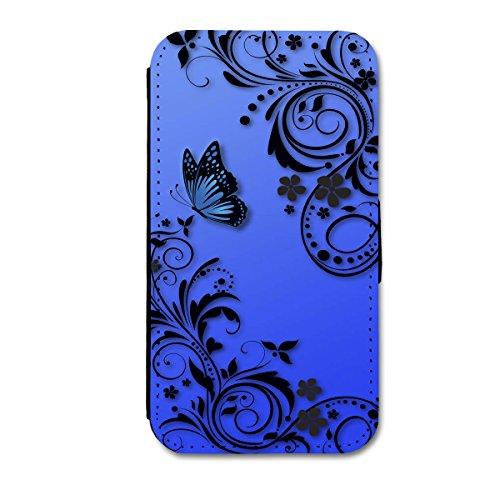Book Style Flip Handy Tasche Case Schutz Hülle Schale Motiv Etui für Apple iPhone 4 / 4S - A14 Design1 Design 3
