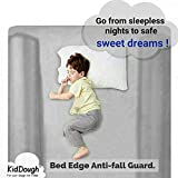 KidDough Bed Rail Bumper/Foam Safety Guard for Bed - Side Rail - Pillow