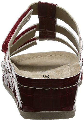Rohde Riesa-40, Mules femme Rouge (rouge)