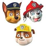 Paw Patrol - Caretas (8 unidades), diseño de personajes de Patrulla de Cachorros