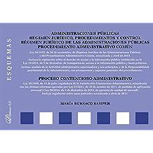 Esquemas. Administraciones públicas. Régimen jurídico, procedimientos y control