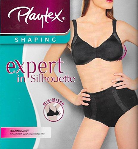 reggiseno-playtex-expert-in-silhouette-riducente-minimizer-p001p4-coppe-c-d-e-f-6-coppa-d-nero