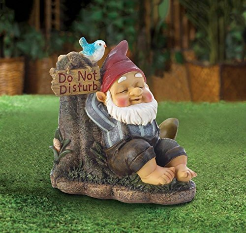 yard gnomes do not disturb lawn statues art - Funny Garden Gnomes