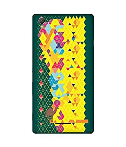 Stripes And Elephant Print-74 Sony Xperia T3 Case