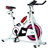 Powermax Fitness BS-140 - Group Exercise Bike with 13Kg Flywheel & LCD Monitior