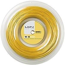 Wilson 4G Rough 125 200M Reel - Cordaje Luxilon, color dorado, talla única