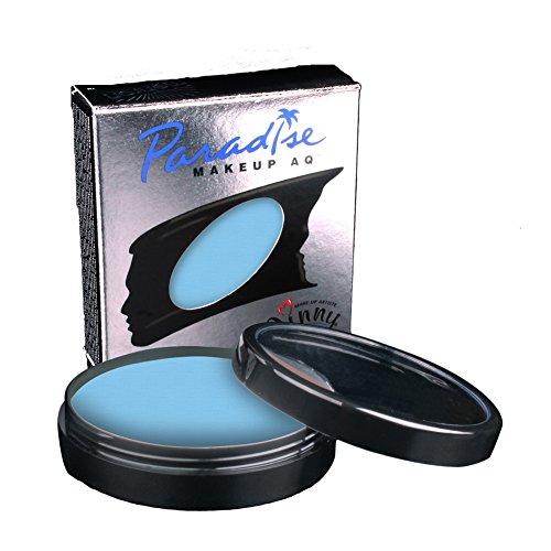 Mehron Paradise Face Paints - Light Blue LBL (1.4 oz/40 gm) by mehron