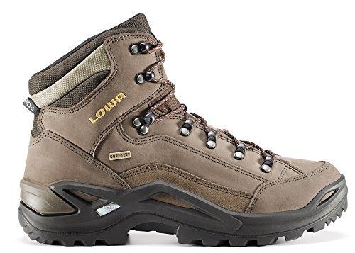 Chaussures lowa rENEGADE gTX mID gmbH, s, sépia/marron