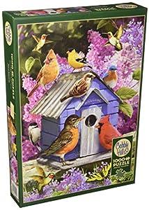 Cobblehill 80153 - Puzzle de 1000 Piezas, diseño de casa de pájaros