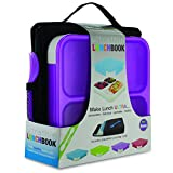 Best Smart Planet Lunch Boxes - Smart Planet Ultrathin Lunch Box - Purple Review