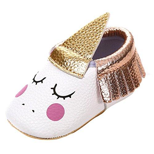 LUCKYCAT Sandales d'été Bébé, Amazon Chaussures de bébé Filles Garçon Chaussures à Semelle Souple Les Cils Gland À la Mode Enfant en Bas âge 2018