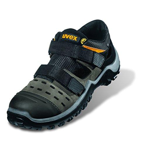Uvex Athletic Pro S1 Sandalen 9455 42 Grau