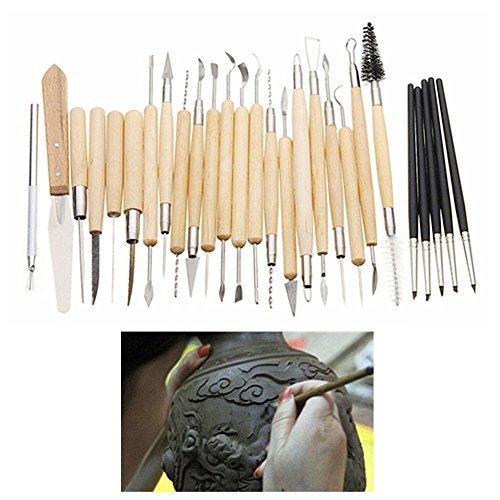 REFURBISHHOUSE27 Teile/saetze Professionelle Werkzeug-Set, ton skulptur Carving ton Werkzeug-Set, Fuer modellierung multifunktions -
