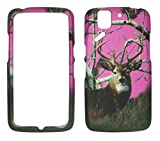 2D Pink Camo Buck Deer Realtree Pantech Flex P8010 AT & T Schutzhülle Hard Case Snap On Cover Gummiert Touch Displayschutzfolie Fällen
