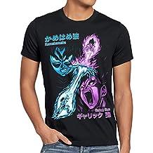 style3 Goku vs. Vegeta Camiseta para hombre T-Shirt energía gallic kamehameha dragon rayo ball