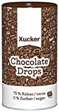 Xucker Edelbitter-Schokolade – Chocolate-Drops, 1er Pack (1 x 750 g)