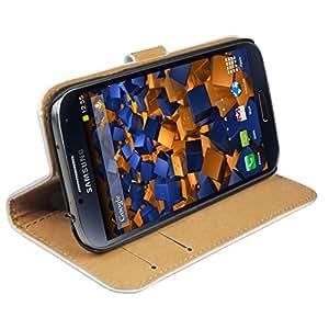 mumbi Tasche im Bookstyle für Samsung Galaxy S4 Tasche weiss