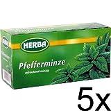 5er Pack Herba Pfefferminztee