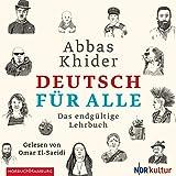 Deutsch für alle: Das endgültige Lehrbuch: 2 CDs