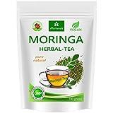 Moringa Tee geschnitten 100g (Kräutermischung) - 1A Geschmack, beste Qualität von MoriVeda (1x100g)