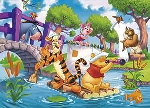 Clementoni - Puzzle pour enfant - Winnie l'Ourson: Les Pirates - 104 pièces