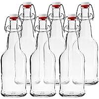 Chef 's Star Funda de 6–16oz. Easy Cap–Botellas de cerveza transparente