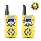 QZT T388 Walkie Talkie Set für Kinder Taschenlampe Vox PMR446 8 Kanal